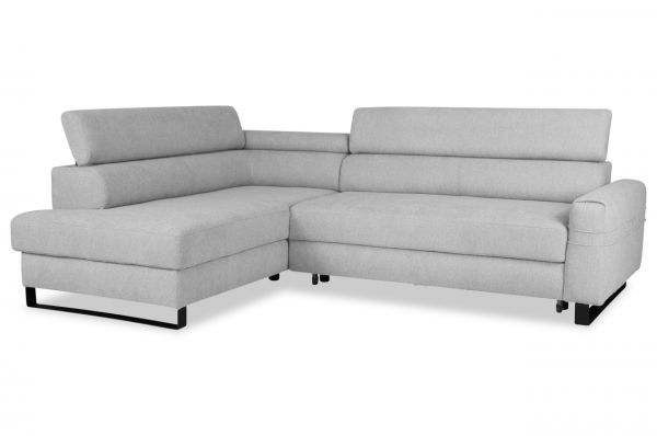 Wersal Ecksofa Livio links - mit Bettfunktion
