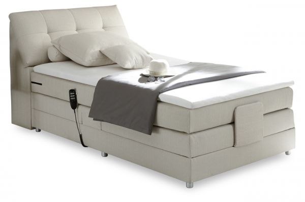 Black Red White Boxspringbett Concord 120x200 - mit Motor