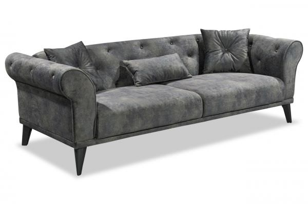 Black Red White Schlafsofa Chester - mit Schlaffunktion