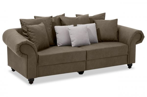 New Look Bigsofa King George - Antik Schlamm