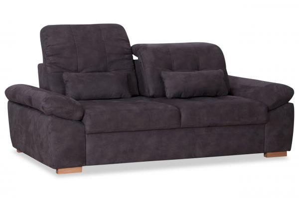 Sofa Allmobile - mit Sitzverstellung wahlweise als 3er oder 2er