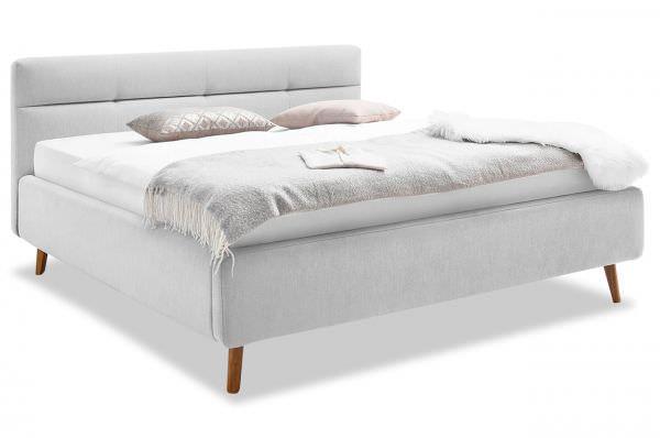 Meise Möbel Polsterbett Bettgestell Lotte inkl. Lattenkosten und Bettkasten