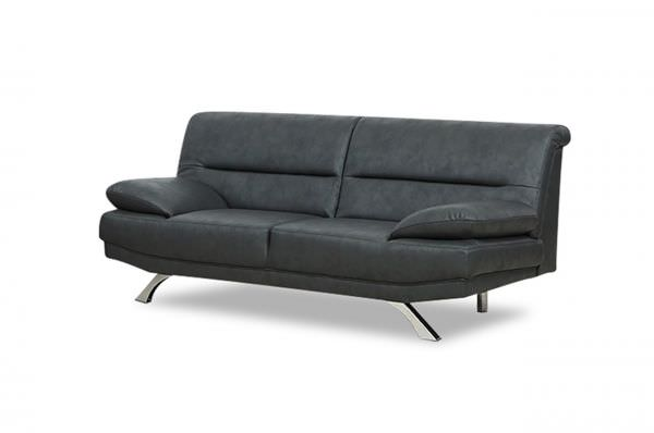 2er-Sitz Sofa Bruno - Anthrazit