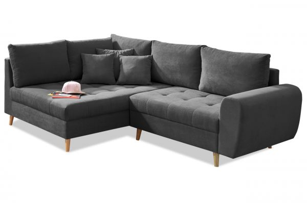Black Red White Ecksofa Alice links