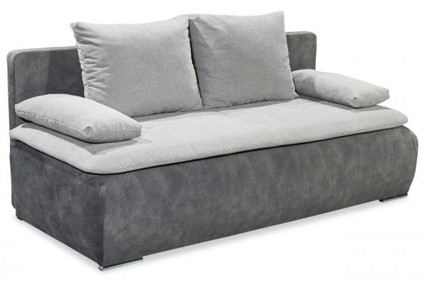 Black Red White Schlafsofa Jessy - mit Topper