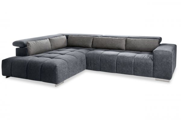 Cotta Ecksofa Orion links mit Ottomane