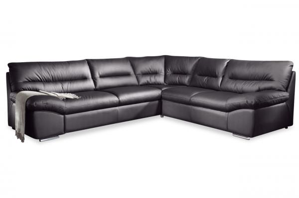 Cotta Ecksofa William links - mit Bettfunktion