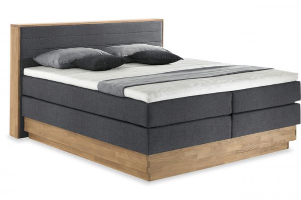 Cotta Boxspringbett Moneta Massivholz - mit Bettkasten