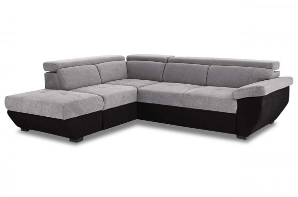 Cotta Ecksofa XL Speedway links - wahlweise mit Schlaffunktion