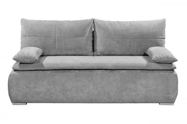 Black Red White Boxspring Schlafsofa Jana - mit Schlaffunktion