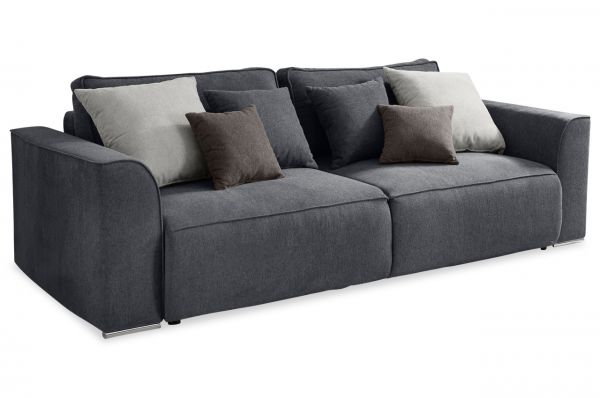 Black Red White Bigsofa Lazy - mit Schlaffunktion