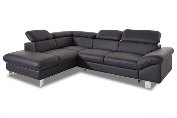Cotta Ecksofa XL Driver links - wahlweise mi Schlaffunktion